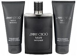 Fragrances, Perfumes, Cosmetics Jimmy Choo Man Intense Travel Set - Set (edt/100ml+ash/b/100ml+sh/gel/100ml)