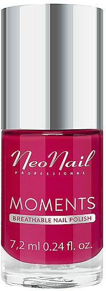 Nail Polish - NeoNail Professional Moments Breathable Nail Polish (Amaranth Rose)