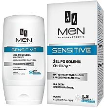 Fragrances, Perfumes, Cosmetics After Shave Gel - AA Men Sensitive After-Shave Gel Cooling