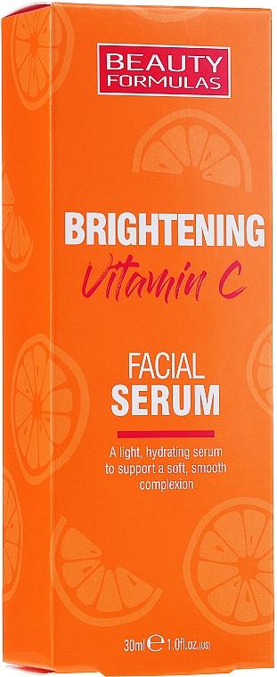 Brightening Vitamin C Facial Serum - Beauty Formulas Brightening Vitamin C Facial Serum