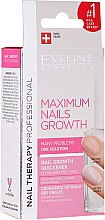 Fragrances, Perfumes, Cosmetics Nail Growth Quickener - Eveline Cosmetics Nail Therapy Professional