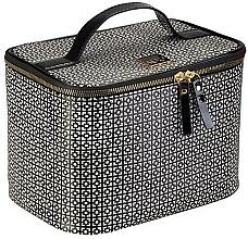 Fragrances, Perfumes, Cosmetics Makeup Bag - Auri Simple Black & White Makeup Case