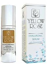 Fragrances, Perfumes, Cosmetics Hyaluronic Acid Serum - Yellow Rose Hyaluronic Serum With Oligopeptides