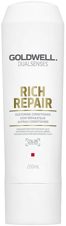 Anti-Breakage Conditioner - Goldwell Dualsenses Rich Repair Restoring Conditioner