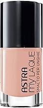 Fragrances, Perfumes, Cosmetics Nail Polish - Astra Make-up My Laque