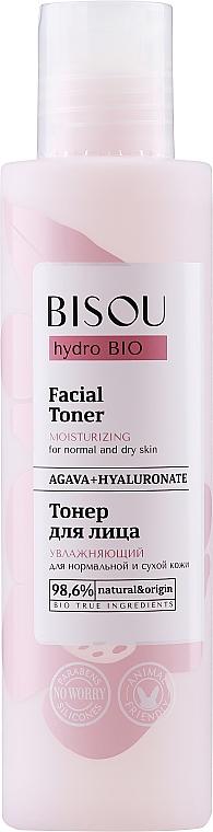 Moisturizing Face Toner - Bisou Hydro Bio Facial Toner