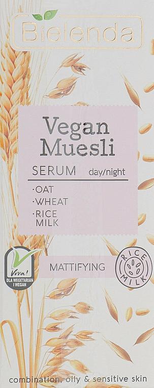 Matte Facial Serum - Bielenda Vegan Muesli Serum