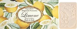 "Fragrances, Perfumes, Cosmetics Toilet Soap Set ""Lemon"" - Saponificio Artigianale Fiorentino Lemon"