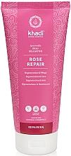 Fragrances, Perfumes, Cosmetics Rose Shampoo - Khadi Shampoo Rose Hair Repair