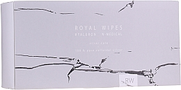 Fragrances, Perfumes, Cosmetics Face & Body Care Wipes for Sensitive Skin - N-Medical Hyaluron Royal Silver Care Wipes