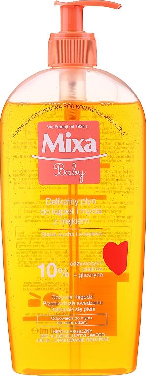 Baby Foaming Oil - Mixa Baby Foaming Oil
