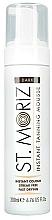 Fragrances, Perfumes, Cosmetics Self-Tanning Body Mousse - St. Moriz Instant Tanning Mousse Dark