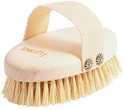 Fragrances, Perfumes, Cosmetics Wet & Dry Massage Wooden Brush - Lynia
