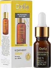 Fragrances, Perfumes, Cosmetics Neck, Face and Decollete Serum - Delia Liposomal Vitamin C 100% Face Neckline Serum Anti Wrinkle Treatment