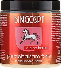 Fragrances, Perfumes, Cosmetics Horse Ointment with Alpine Herbs - BingoSpa Ointment Horse With Alpine Herbs