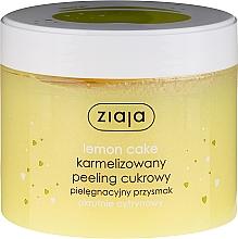 "Fragrances, Perfumes, Cosmetics Sugar Body Peeling ""Lemon Cake"" - Ziaja Sugar Body Peeling"