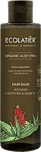 "Fragrances, Perfumes, Cosmetics Hair Balm ""Intensive Strengthening and Growth"" - Ecolatier Organic Aloe Vera Hair Balm"