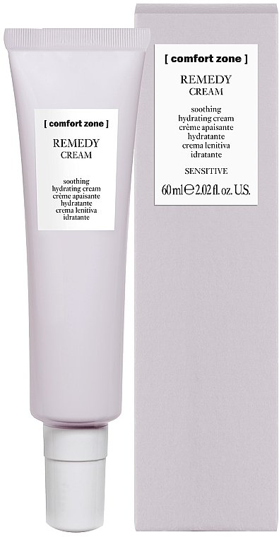 Soothing & Moisturizing Face Cream - Comfort Zone Remedy Soothing Hydrating Cream Sensitive