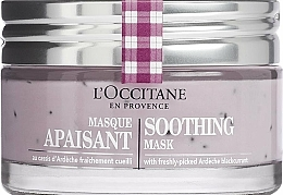 Fragrances, Perfumes, Cosmetics Soothing Face Mask - L'Occitane Soothing Mask