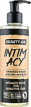 "Fragrances, Perfumes, Cosmetics Intimate Wash Gel for Sensitive Skin ""Intim Acy"" - Beauty Jar Intimate Wash For Sensetive Skin"