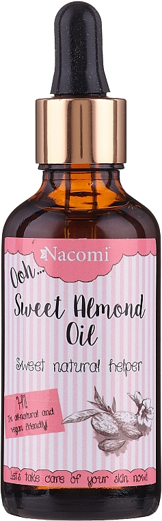 Sweet Almond Oil with Pipette - Nacomi Sweet Almond Oil