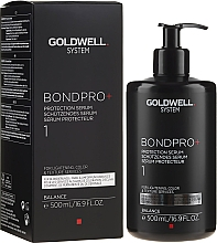 Fragrances, Perfumes, Cosmetics Hair Protective Serum - Goldwell System BondPro+ 1 Protection Serum
