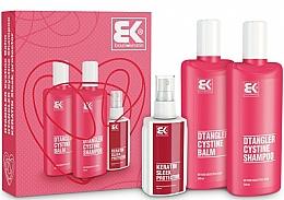 Fragrances, Perfumes, Cosmetics Set - Brazil Keratin Dtangler Cystine (sh/300ml + balm/300ml + spray/100ml)