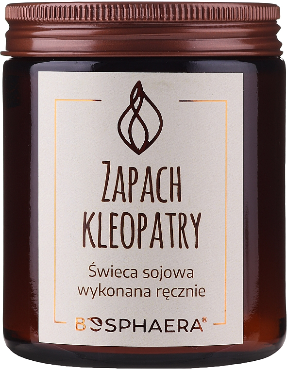 """Scented Soy Candle """"The Scent of Cleopatra"""" - Bosphaera The Scent of Cleopatra Candle"""