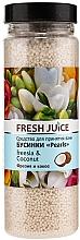 Fragrances, Perfumes, Cosmetics Bath Beads - Fresh Juice Bath Bijou Rearls Freesia and Coconut