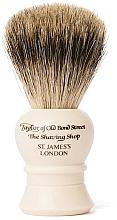 Fragrances, Perfumes, Cosmetics Shaving Brush, P2233, beige - Taylor of Old Bond Street Shaving Brush Pure Badger size S