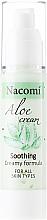 "Fragrances, Perfumes, Cosmetics Face Cream-Gel ""Aloe"" - Nacomi Aloe Cream"
