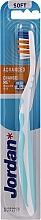 Fragrances, Perfumes, Cosmetics Toothbrush Soft Advanced, no cap, mint - Jordan Advanced Soft Toothbrush