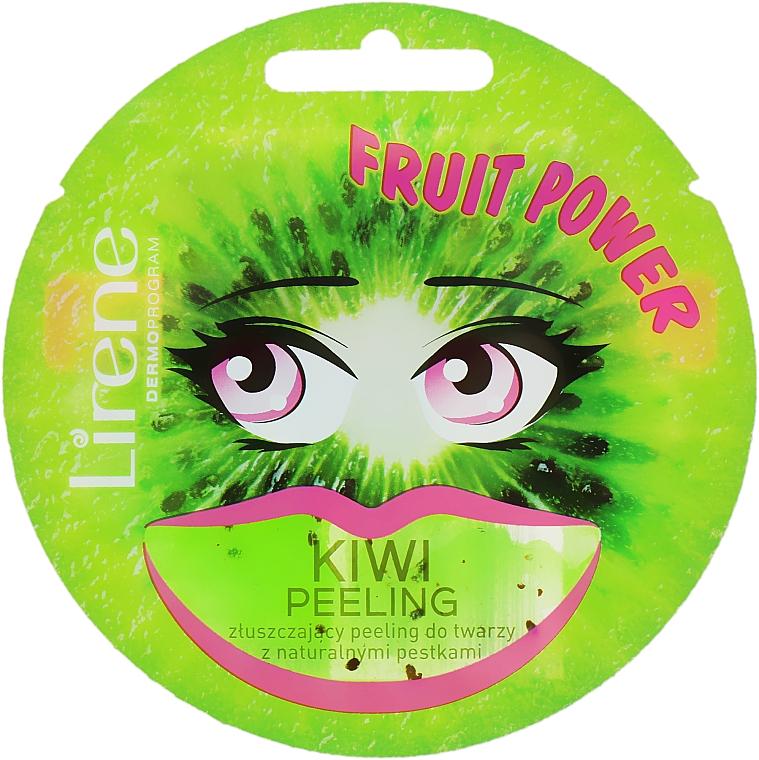 Kiwi Peeling Mask - Lirene Fruit Power