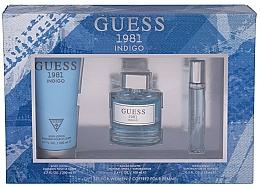 Fragrances, Perfumes, Cosmetics Guess 1981 Indigo for Women - Set (edt/100ml + b/lot/200 + edt/15ml)