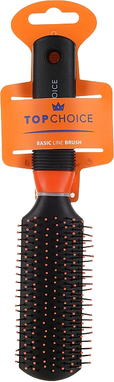 Hair Brush, 2229, black-orange - Top Choice — photo N1