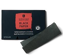 Fragrances, Perfumes, Cosmetics Charcoal Black Blotting Paper - Erborian Blotting Paper With Charcoal