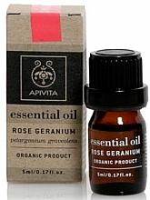 """Fragrances, Perfumes, Cosmetics Essential Oil """"Pink Geranium"""" - Apivita Aromatherapy Organic Geranium Oil"""