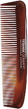 Fragrances, Perfumes, Cosmetics Men Pocket Hair Comb, 12,5cm, brown - Titania Havannah