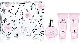 Fragrances, Perfumes, Cosmetics Lanvin Eclat de Fleurs Set - Set (edp/100ml + b/sh/100ml + balm/100ml)