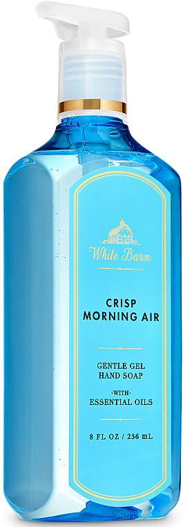 Hand Gel Soap - Bath and Body Works White Barn Crisp Morning Air Gentle Gel Hand Soap — photo N1