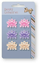 Fragrances, Perfumes, Cosmetics Hair Claws 6 pcs, 24825 - Top Choice