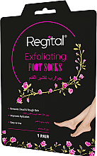 Fragrances, Perfumes, Cosmetics Exfoliating Foot Socks - Regital Exfoliating Foot Socks