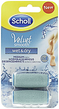 Fragrances, Perfumes, Cosmetics Replacement Rollers for Electric Files - Scholl Velvet Smooth Wet&Dry