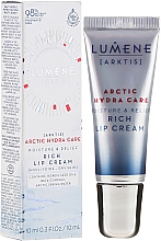 Fragrances, Perfumes, Cosmetics Moisturizing Lip Cream - Lumene Arctic Hydra Care [Arktis] Rich Lip Cream