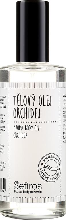 Orchid Body Oil - Sefiros Aroma Body Oil Cream Orchidea