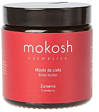 """Fragrances, Perfumes, Cosmetics Body Butter """"Cranberry"""" - Mokosh Cosmetics Body Butter Cranberry"""
