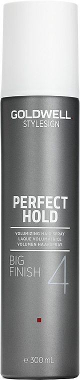 Strong Hold Volume Spray - Goldwell Style Sign Perfect Hold Big Finish Volumizing Hairspray