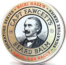 Fragrances, Perfumes, Cosmetics Beard Balm - Captain Fawcett Ricki Hall Booze & Baccy Beard Balm