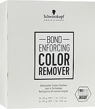 Fragrances, Perfumes, Cosmetics Hair Artificial Color Remover - Schwarzkopf Professional Bond Enforcing Color Remover