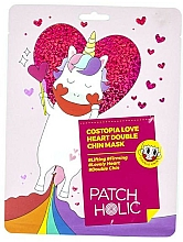 Fragrances, Perfumes, Cosmetics Lifting Chin Mask - Patch Holic Costopia Love Heart Double Chin Mask